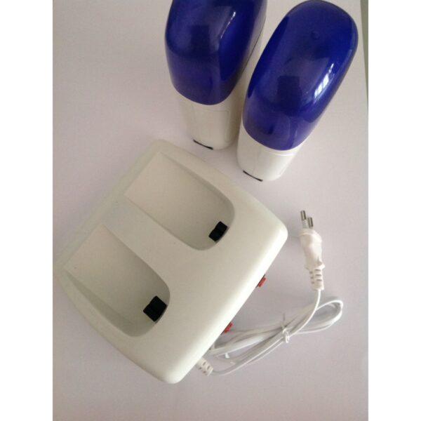 Double Roller Depilatory Wax Heater Base