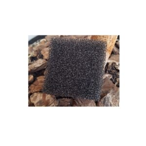 Body Exfoliating Sponge Black