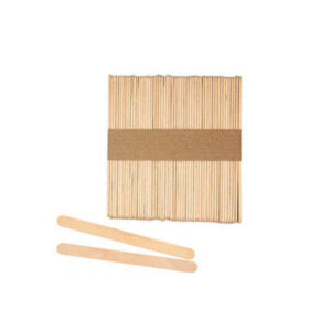 Waxing Spatula Wooden Small 50pc