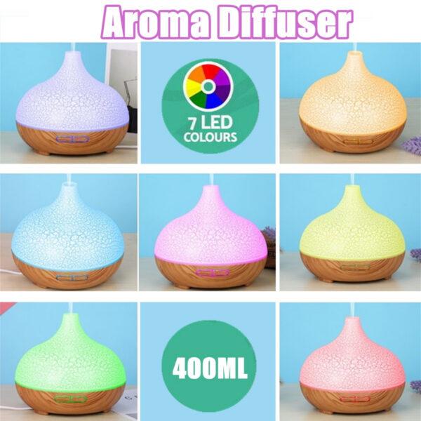 Aroma Diffuser 7 LED Colour 400ml